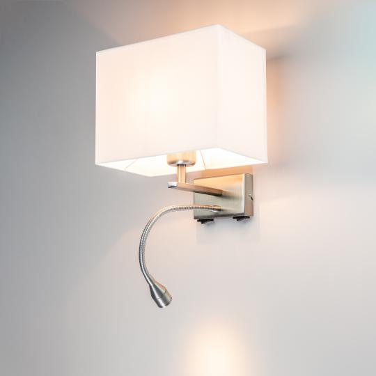 LUPUS K LED Kinkiet podświetlony