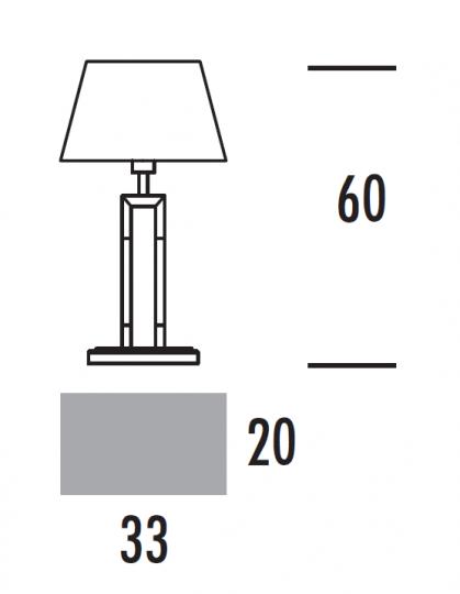 EMMA LG Lampa Gabinetowa wymiary
