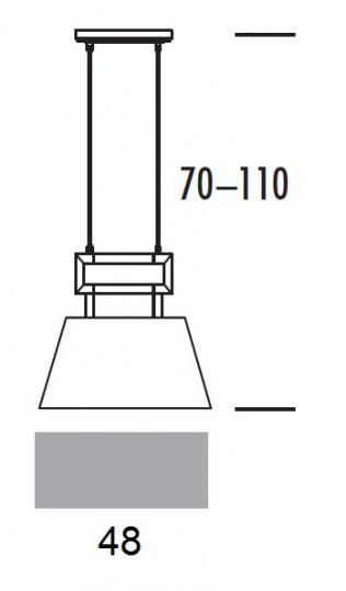 EMMA LS2 Lampa Sufitowa wymiary