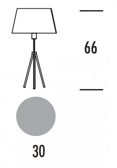 VIENA LG Lampa Gabinetowa wymiary