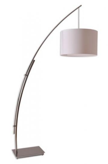 TWIN LP-R Lampa Podłogowa inox