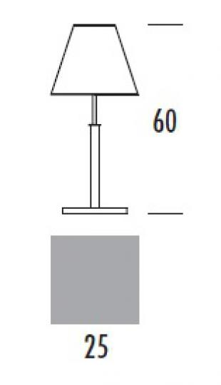 HAMIDA LG Lampa Gabinetowa wymiary