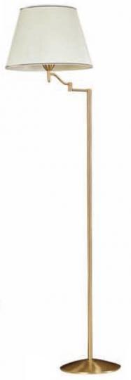 TANGO LP-R Lampa Podłogowa regulowana mosiądz
