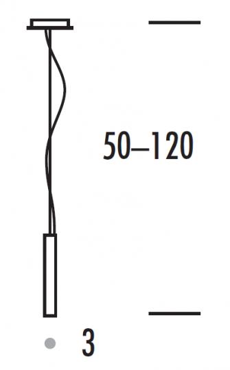 PAR LUX LS-R MINI LED Lampa Sufitowa wymiary