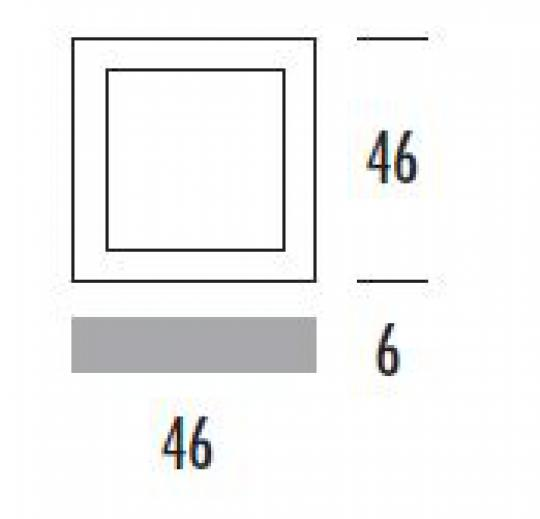 QUANTUM PL K/D Plafon wymiary