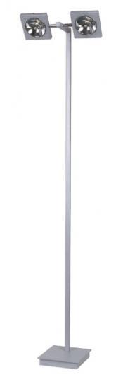 TAIPEI LP2 Lampa Podłogowa srebro