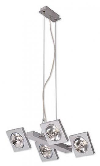 TAIPEI LS4 Lampa Sufitowa srebro