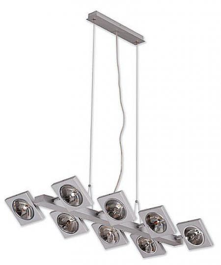 TAIPEI LS8 Lampa Sufitowa srebro