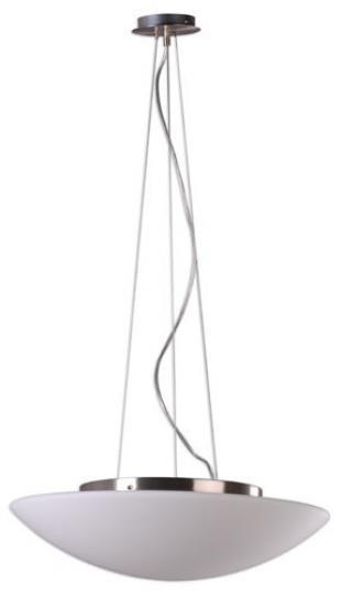 TWIST LS Lampa Sufitowa 55 cm inox