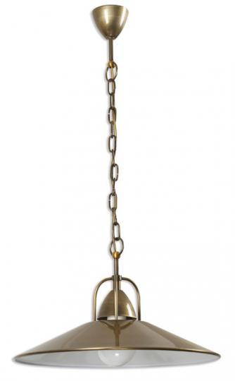 CASINO LS Lampa Sufitowa patynowa na łańcuchu