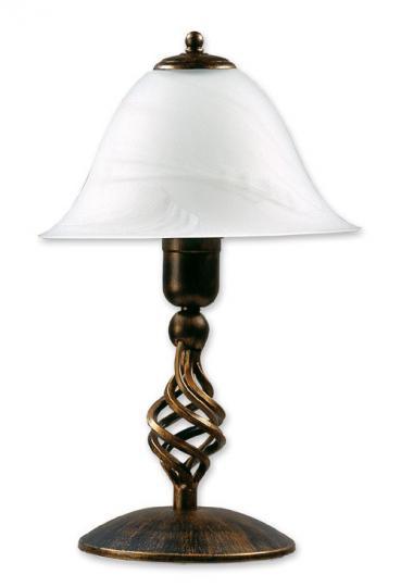 TOMI LG Lampa Gabinetowa czarno złota