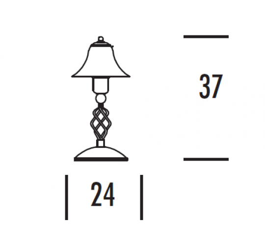 TOMI LG Lampa Gabinetowa wymiary