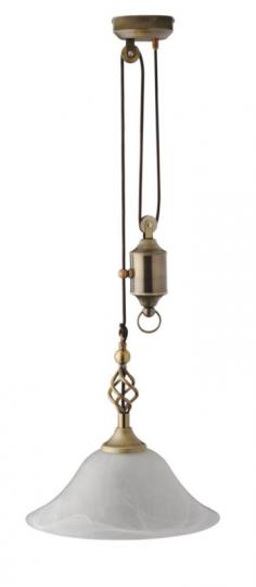 TOMI LS-R Lampa Sufitowa regulowana patyna