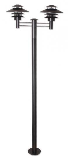SCANIA LO 2/2 2,25m  Lampa Ogrodowa 2 grafitowa