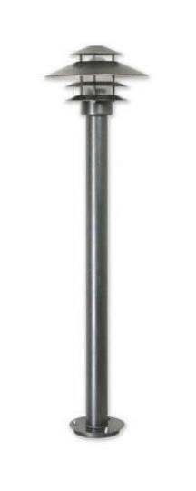 SCANIA LO 1,65m Lampa Ogrodowa grafit