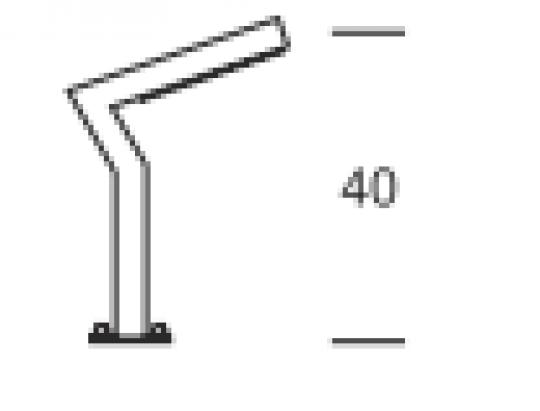 KADET LED LO 0,4m Lampa Ogrodowa wymiary