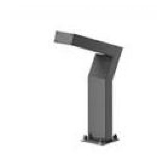 KADET LED LO 0,4m Lampa Ogrodowa szary