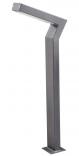 KADET LO LED 0,8m  Lampa Ogrodowa szara