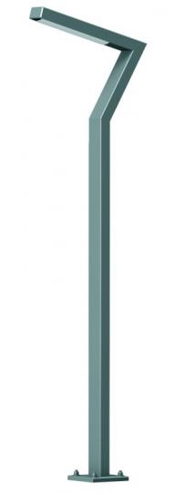 KADET LED LO 1,6m  Lampa Ogrodowa szary