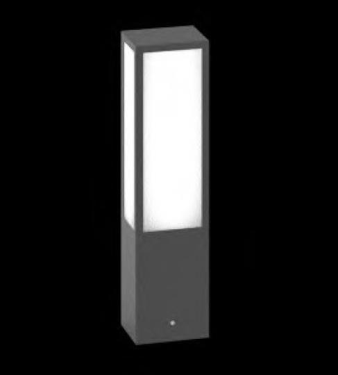 FRYZJA LO 0,4m Lampa Ogrodowa szara