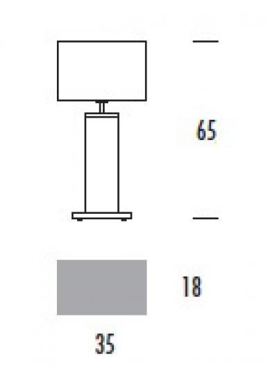 ENEA LG Lampa Gabinetowa wymiary