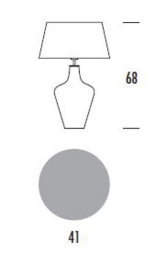 MADERA LG Lampa Gabinetowa wymiary