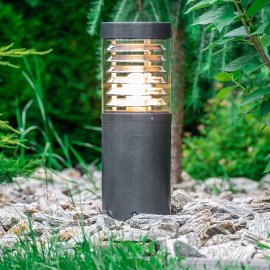 BOLARD LO 0,4m Lampa Ogrodowa grafit