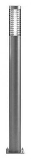 BOLARD LO 1,6m Lampa Ogrodowa szary