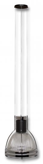 BETA LS-M Lampa Sufitowa czarna chrom, nowoczesna duża lampa, ElmarCo POLSKI producent oświetlenia elmarco_pl