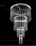 SISIL Ż84 Żyrandol szkło
