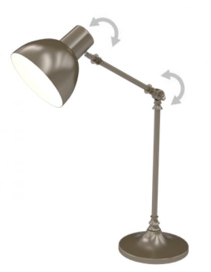 BD K LG Lampa Gabinetowa regulacja