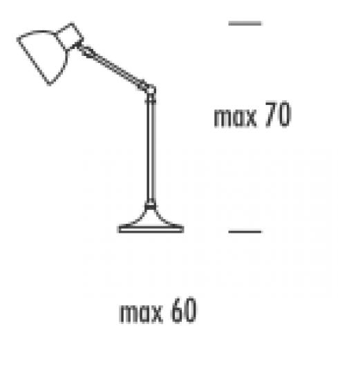 BD K LG Lampa Gabinetowa wymiary