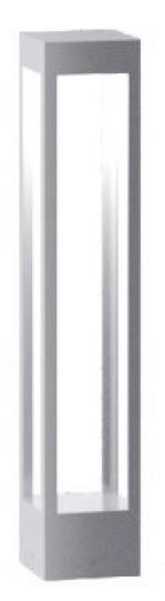 BOVER LED LO 0,8m Lampa Ogrodowa szara