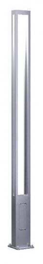 BOVER LED LP 3-4m Lampa Parkowa szara