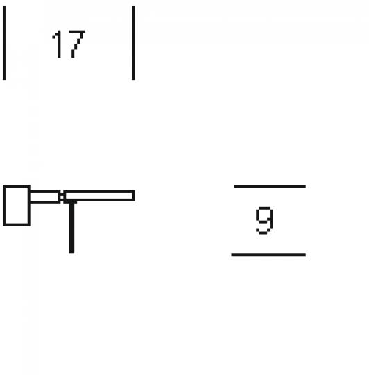 CRIS K1 R Kinkiet wymiary
