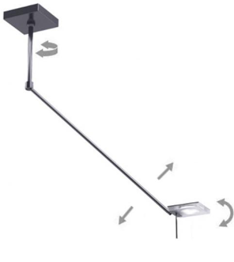 CRIS LS1 R Lampa Sufitowa regulacja
