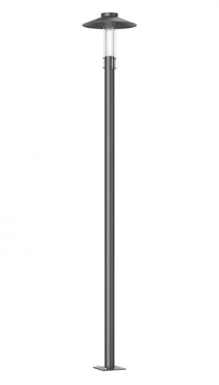 GAMMA BIS LED LP 2,5m grafit