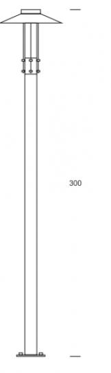 GAMMA BIS LED LP 3,5m wymiary
