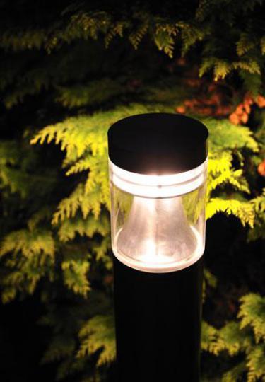 BOLARD LED LO 1,2m Lampa Ogrodowa szarna