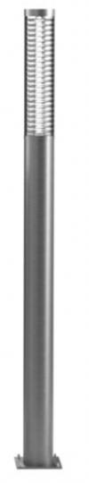 BOLARD LED LO 2m Lampa Ogrodowa szara