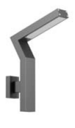KADET LED K Kinkiet Ogrodowy szary