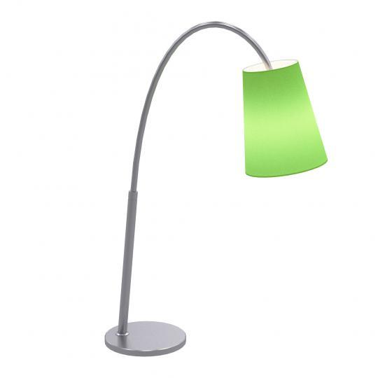 MODENA LG Lampa Gabinetowa zielony abażur