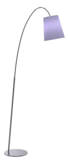 MODENA LP Lampa Podłogowa fioletowy abażur