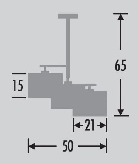 NINA Ż3-M Żyrandol wymiary