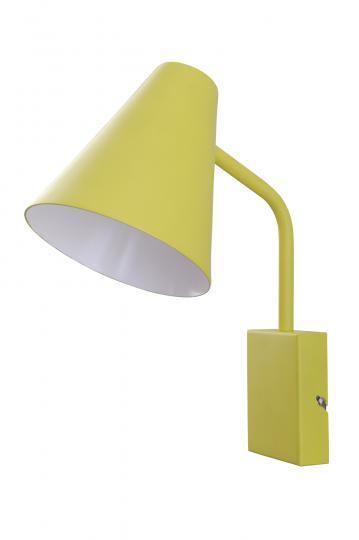 SCANDIC S K Kinkiet żółty, hotel, pokój, ElmarCo POLSKI producent oświetlenia elmarco_pl