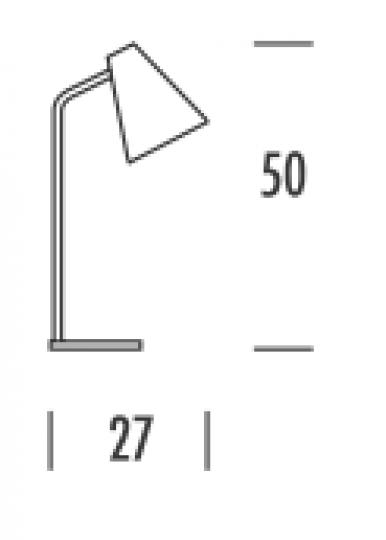 SCANDIC S LG Lampa Gabinetowa wymiary