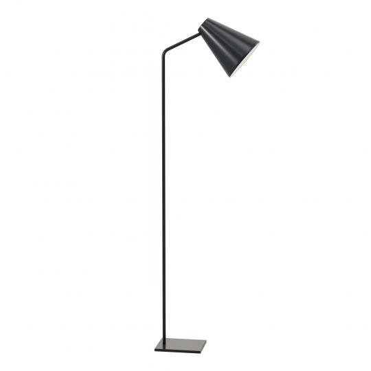 SCANDIC S LP Lampa Podłogowa czarna, regulowana, loft, hotel, ElmarCo POLSKI producent oświetlenia elmarco_pl