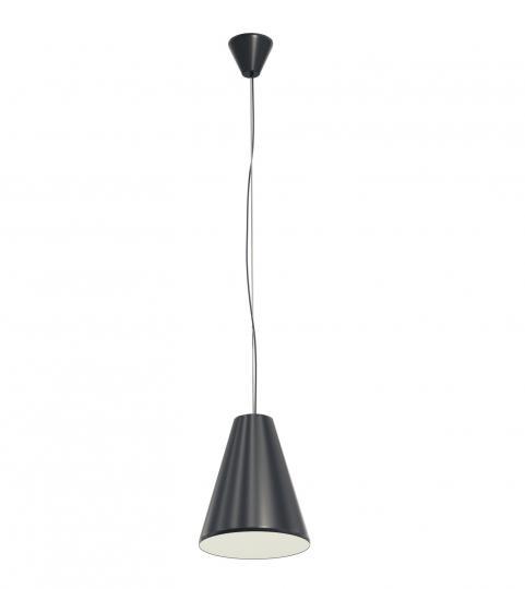 SCANDIC S LS Lampa Sufitowa czarna