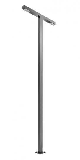 WAY PROSTY LO T 2,5m Lampa Ogrodowa szary