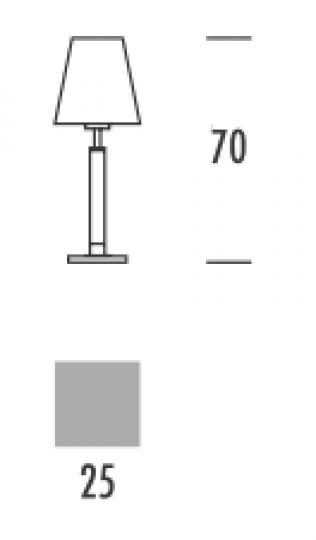 KLARA BIS LG Lampa Gabinetowa wymiary